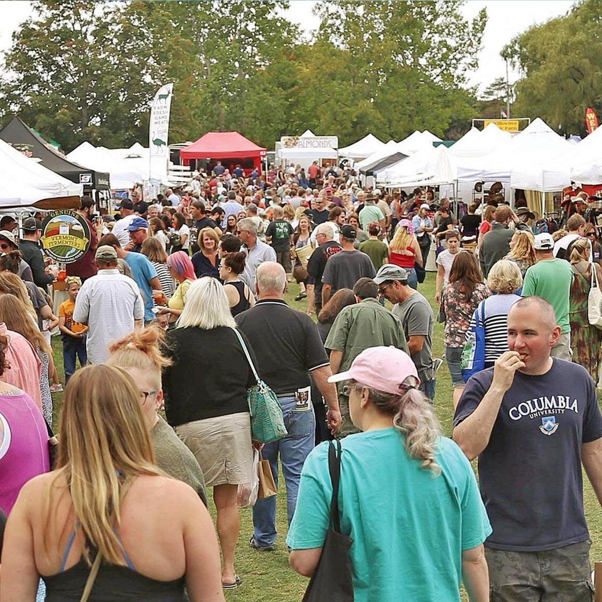 Garlic Festivals - Vermont Garlic and Herb Festival